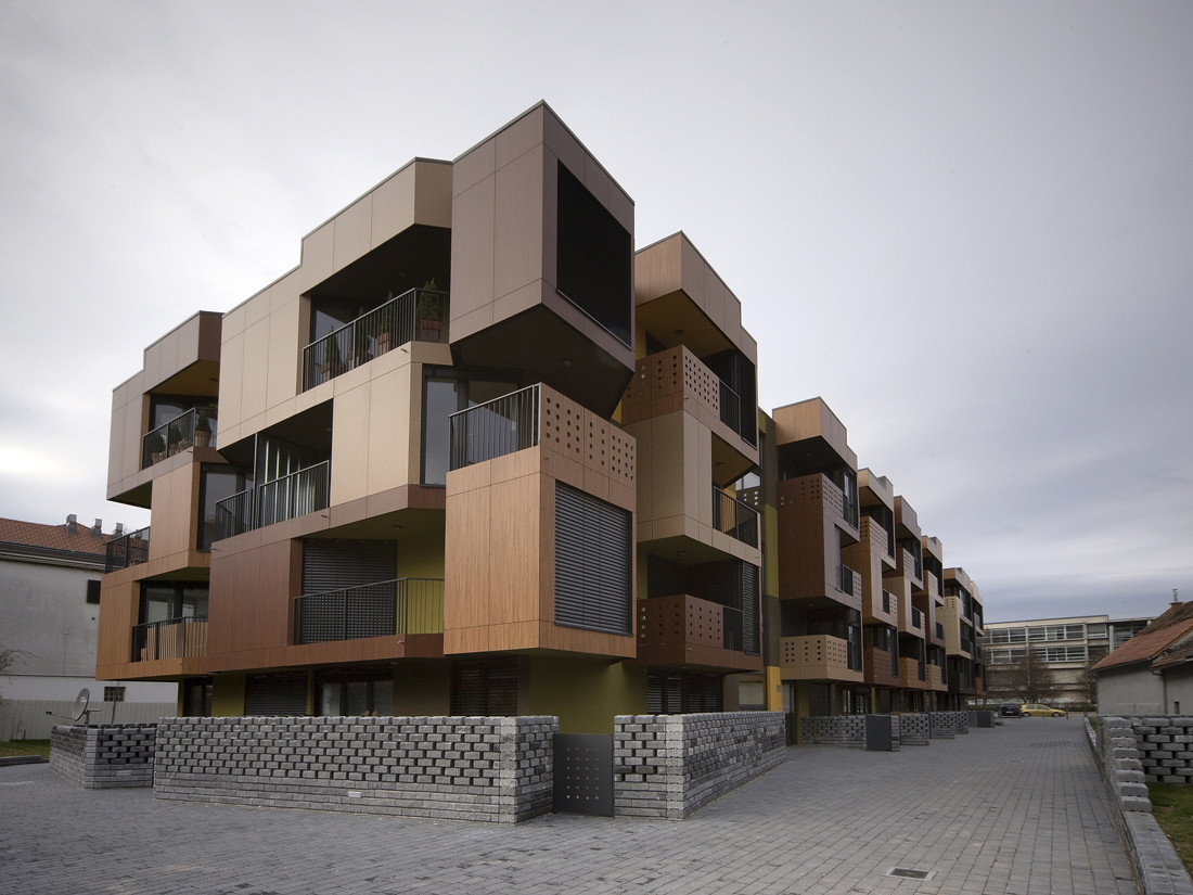 5 awesome examples of affordable housing architecture in for Affordable house construction